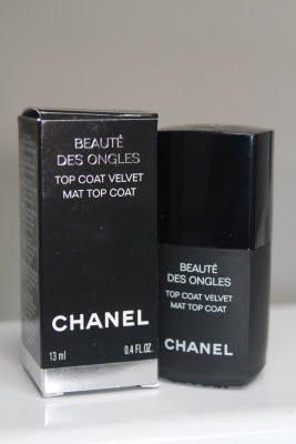 Chanel top coat mat
