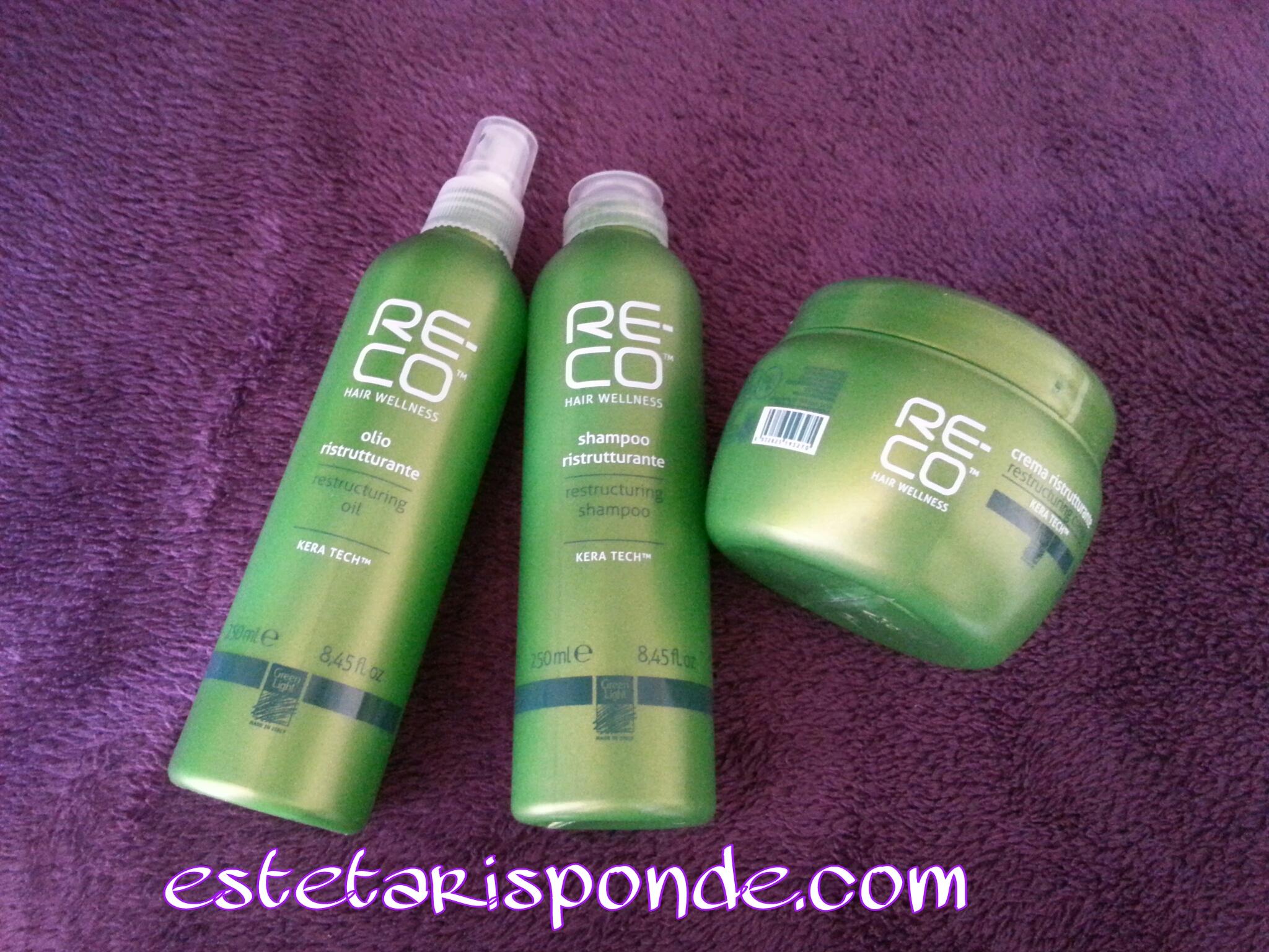 RE-CO ristrutturante capelli Green Light