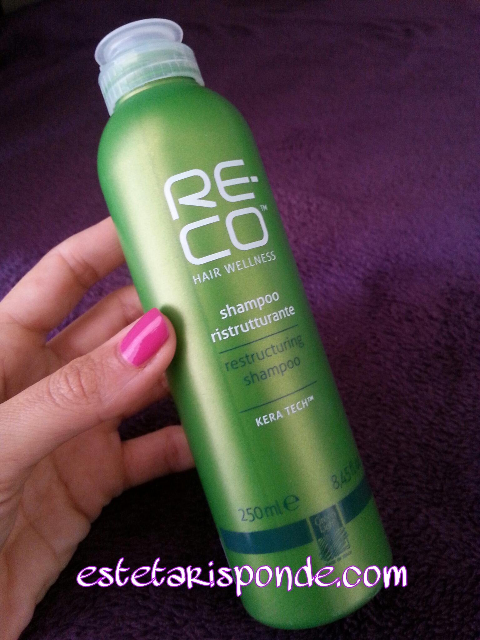 RE-CO shampoo ristrutturante