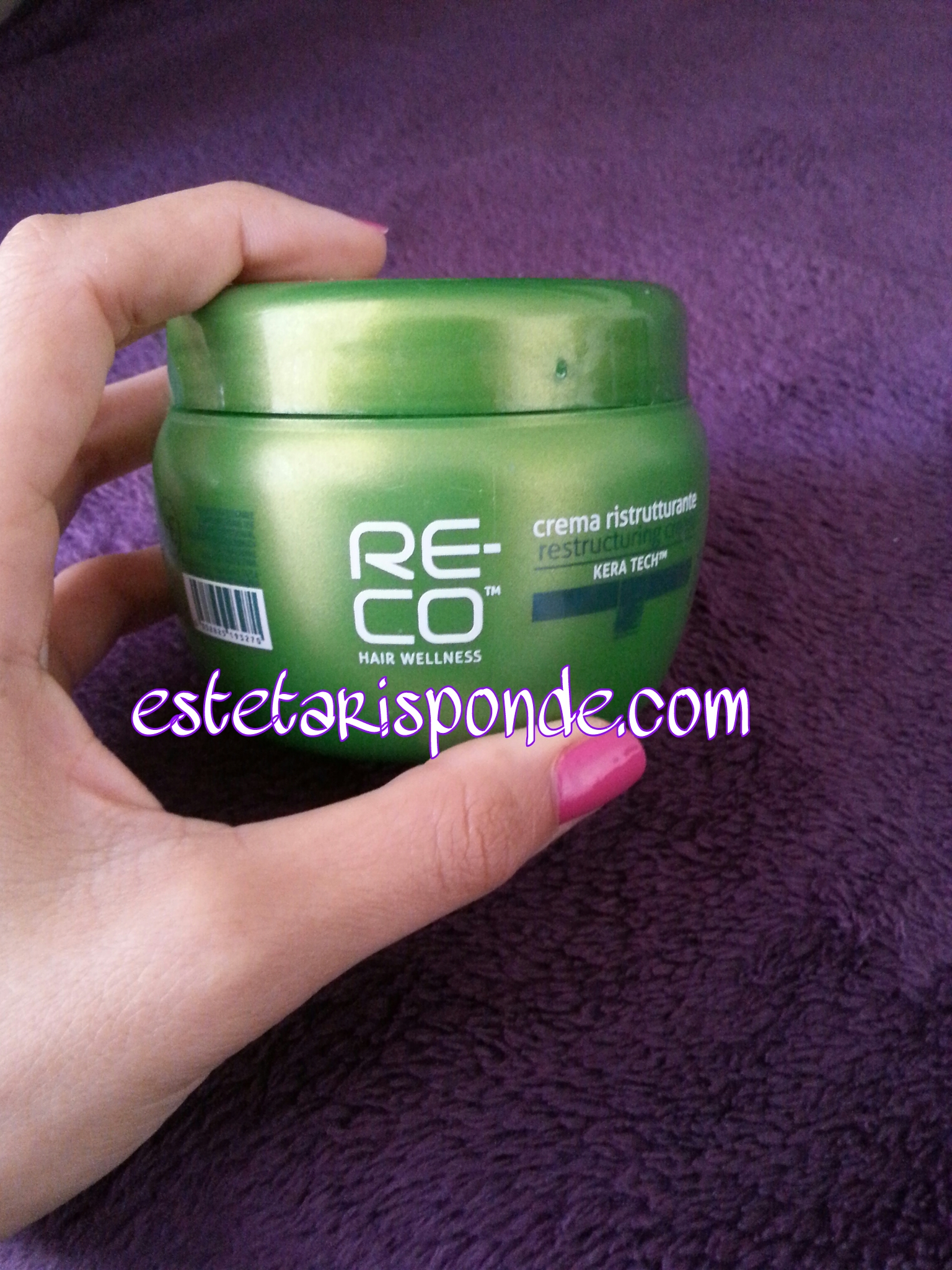 RE-CO crema ristrutturante per capelli