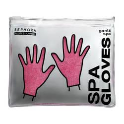 """I guantini """"Spa gloves"""" di SEPHORA sfruttano lo stesso principio idratante dei calzini nell'immagine soprastante! Costo: 31.50 euro."""