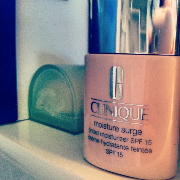 Clinique moisture surge tinted.