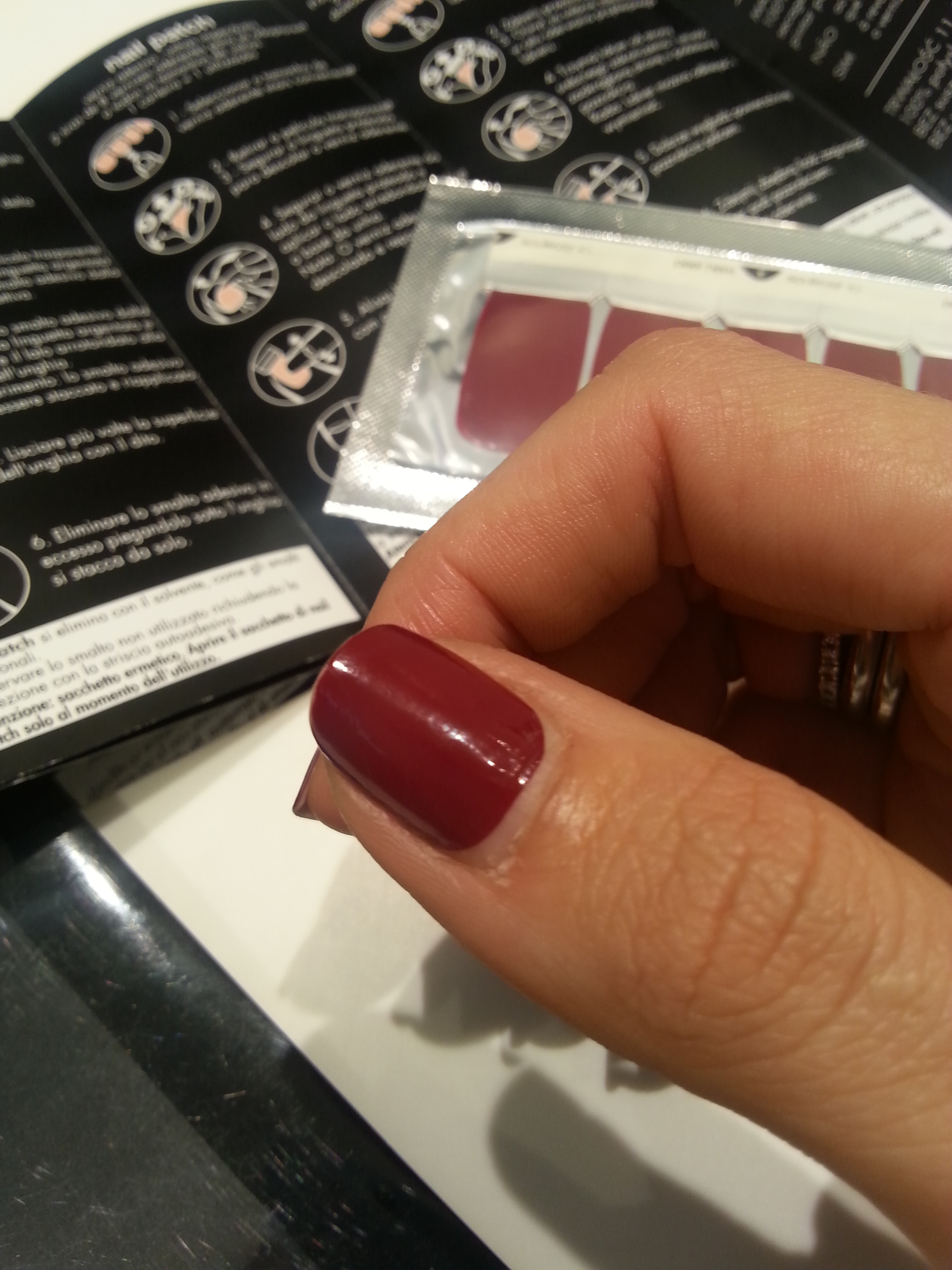 Nail patch SEPHORA swatch