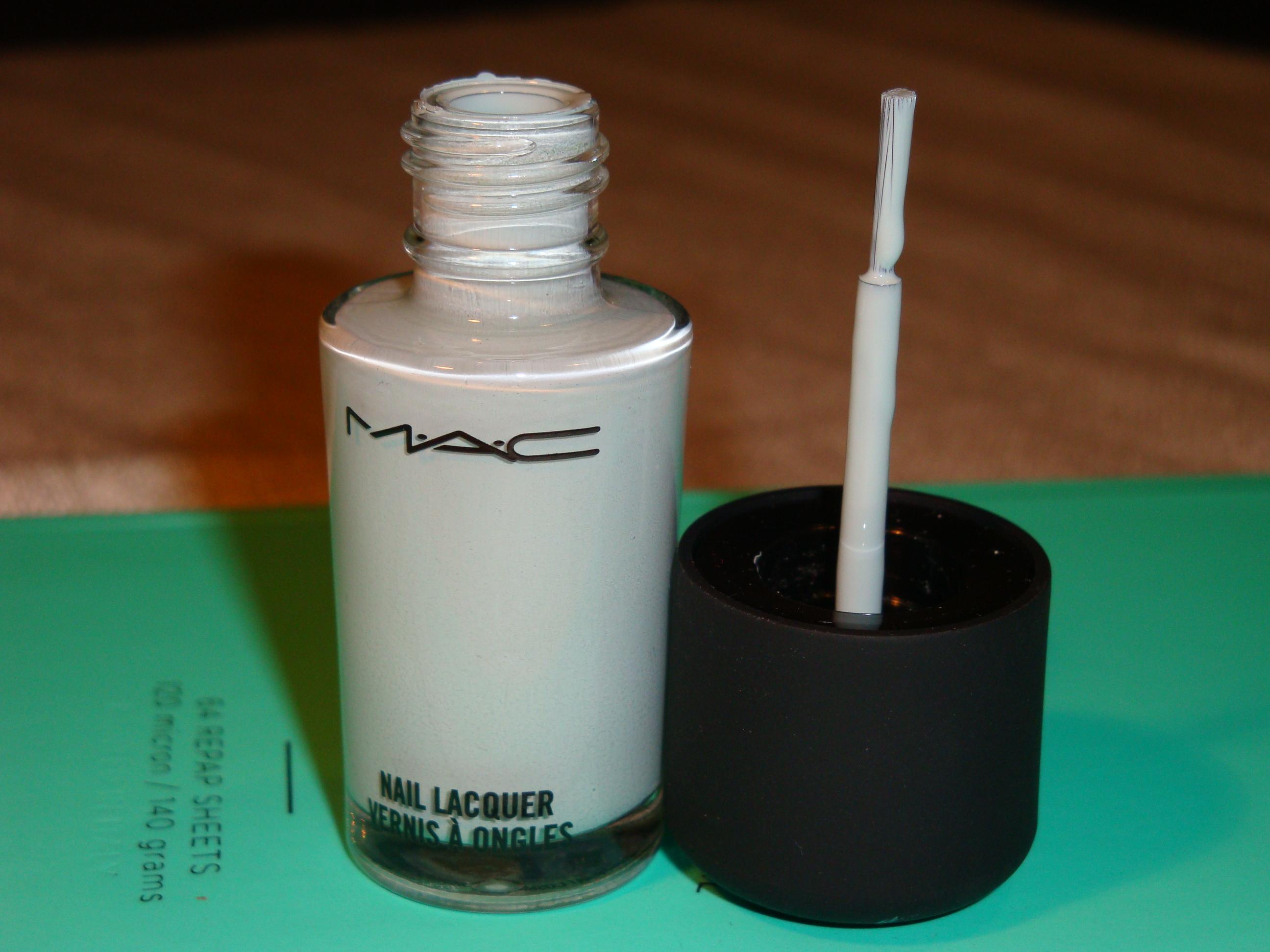 MAC nail polish Hyperion