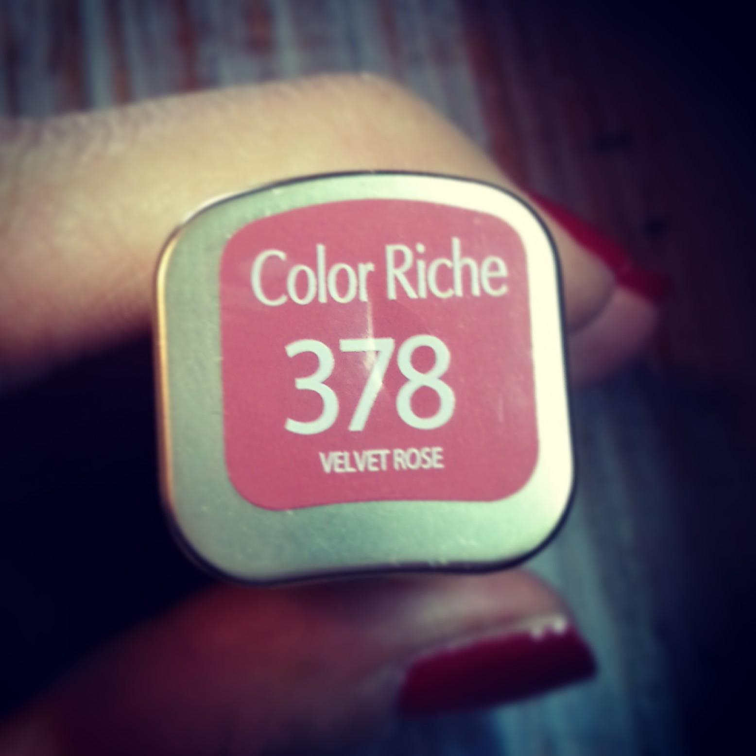 L'Oreal Color Riche 378 Velvet Rose