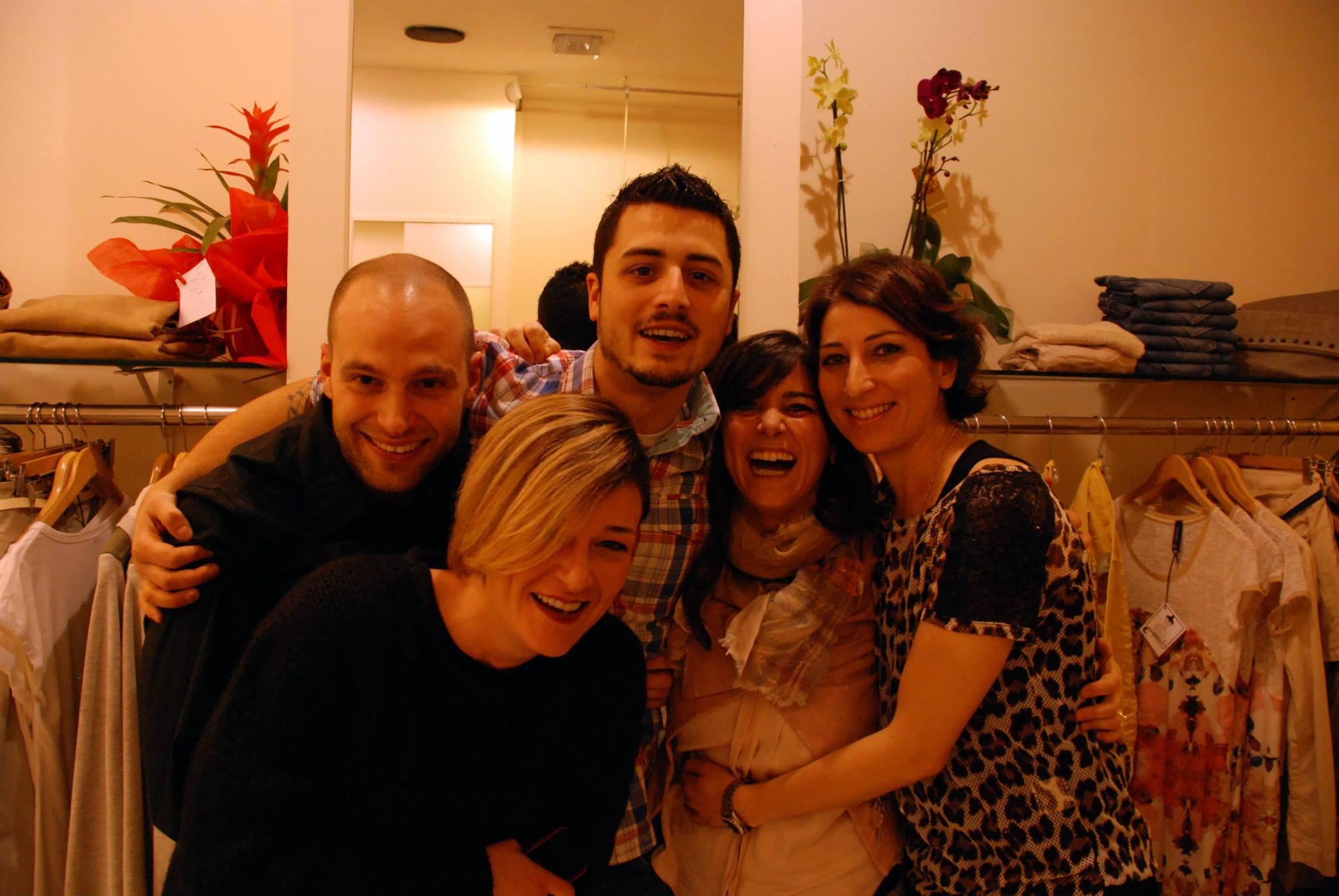 Riki, Giulia, Antomio, Lara e Romina... che dite, ci stavamo divertendo?