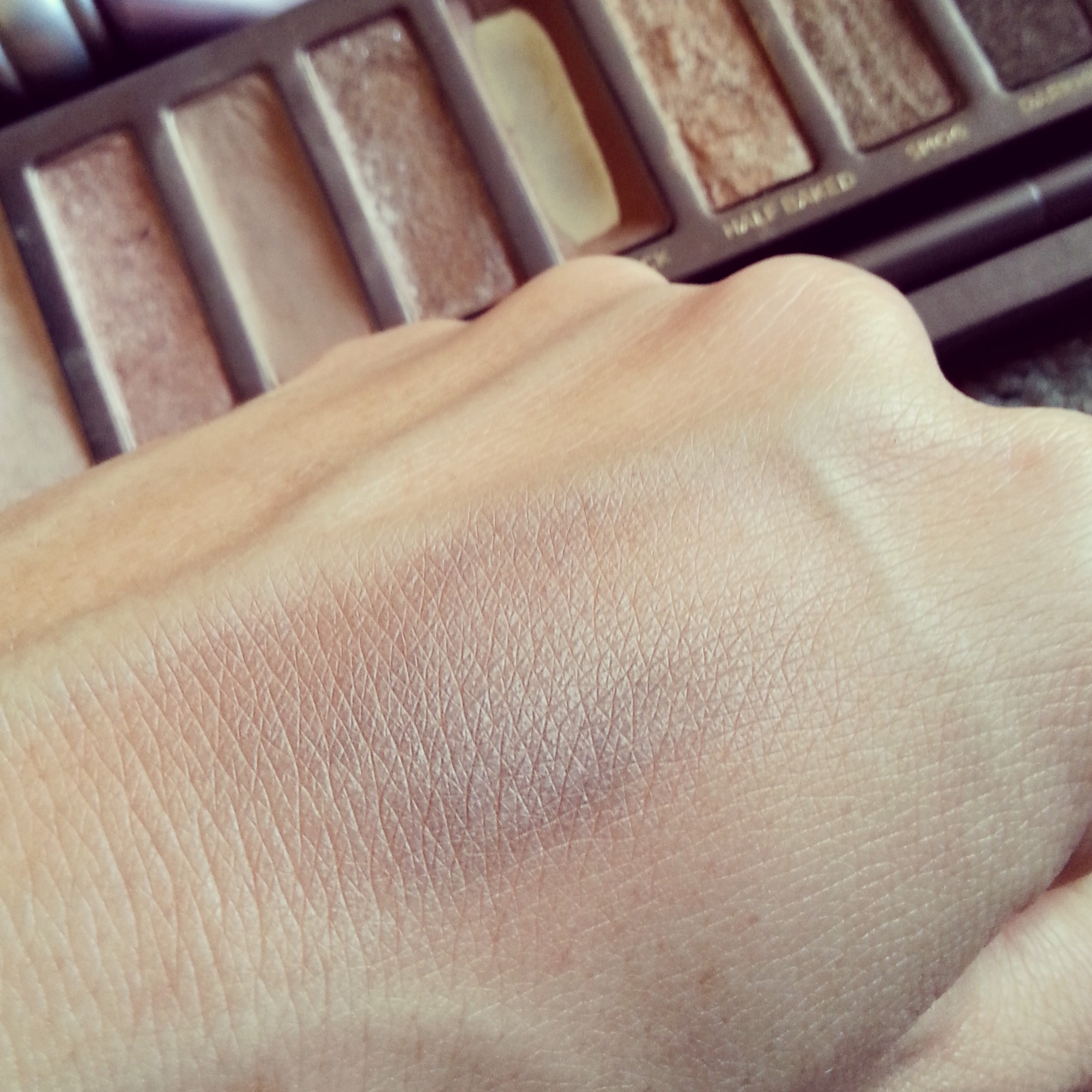 Naked One Buck - swatches