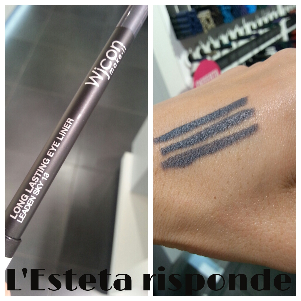 Wjcon matita long lasting eye liner #13 leaden sky - swtach