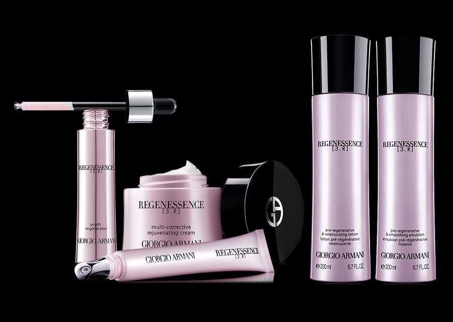 Giorgio Armani Regenessence skincare