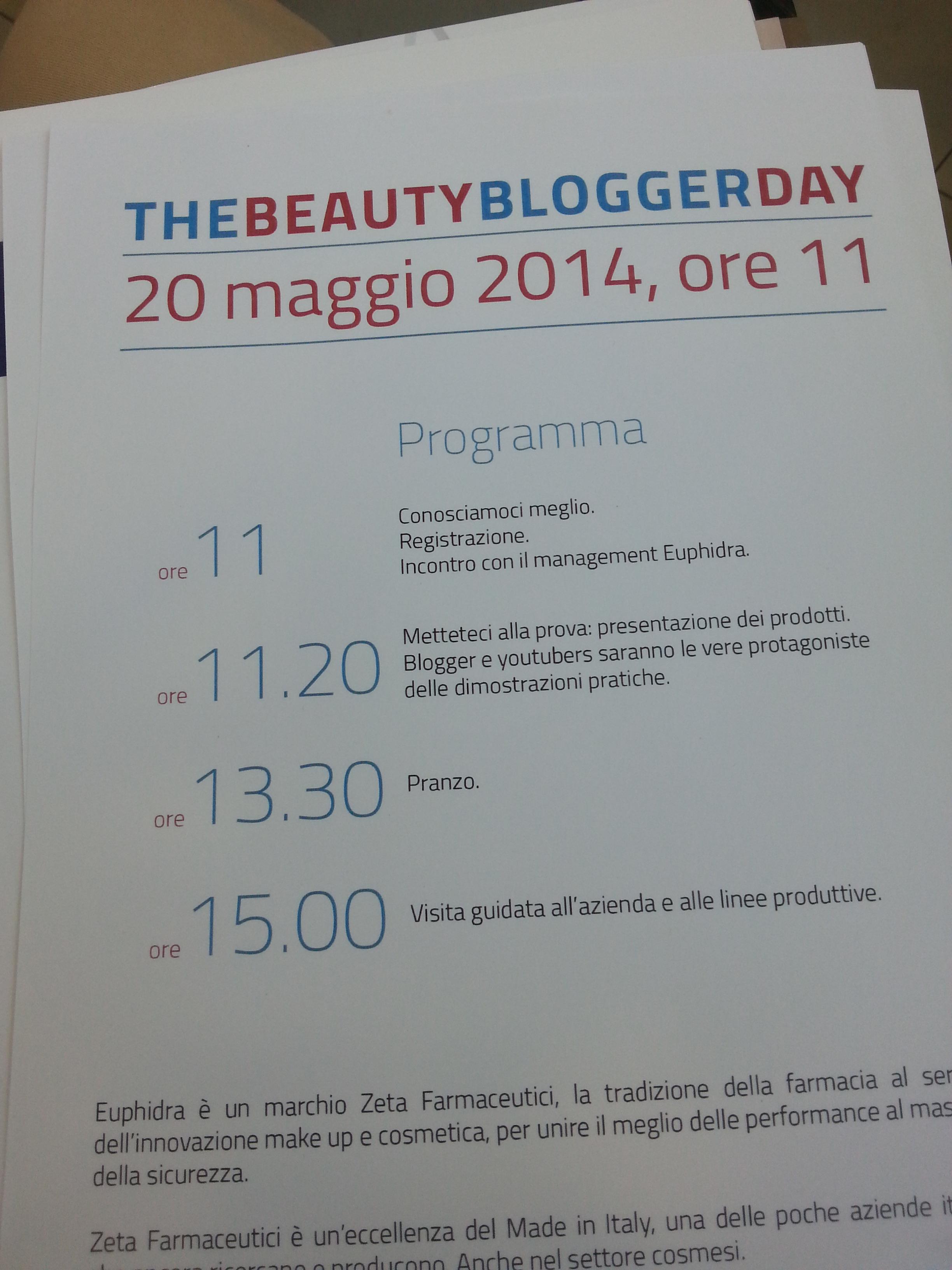 EuPhidra the beauty blogger day