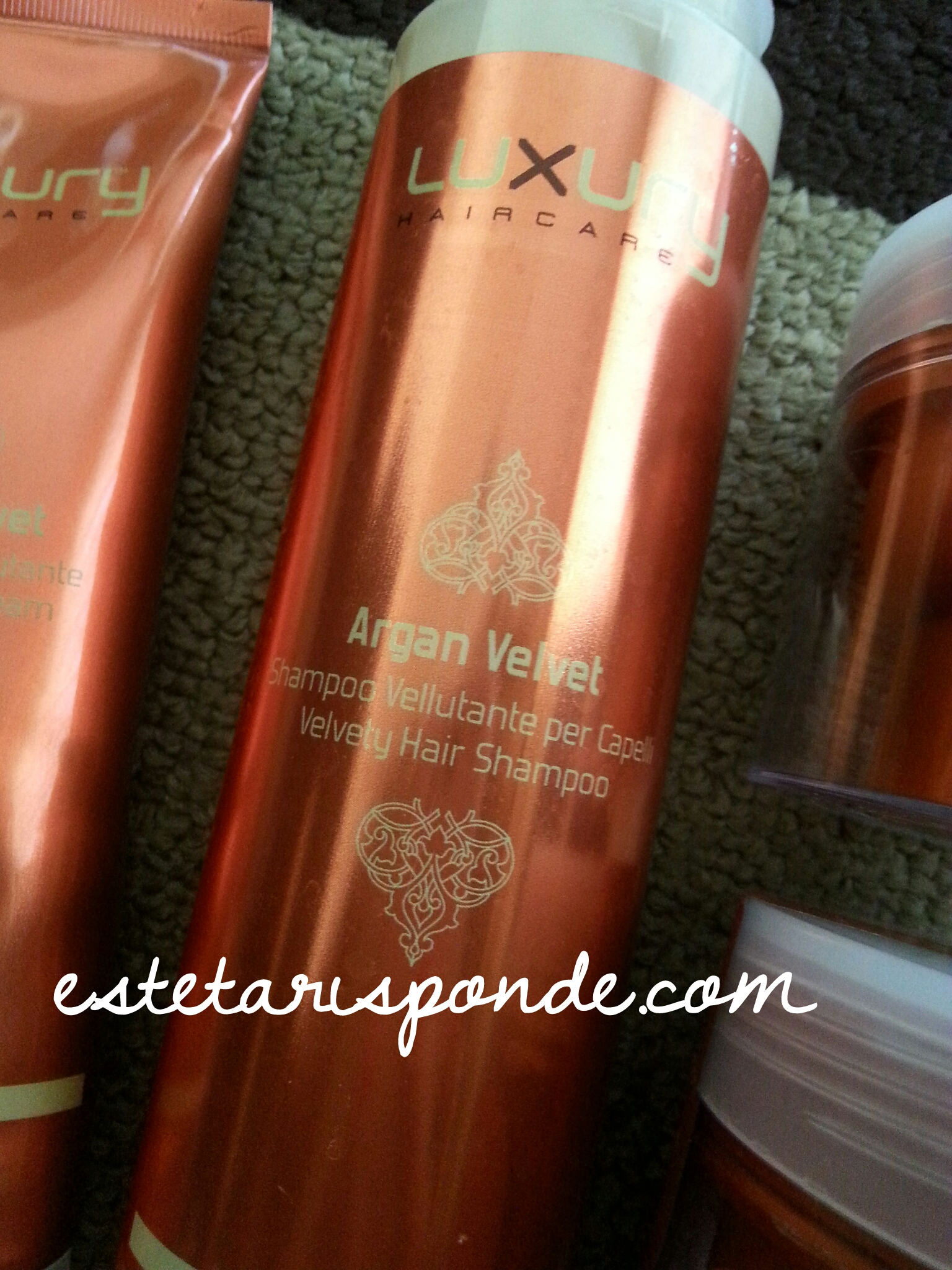 Argan Velvet Green Light shampoo vellutante