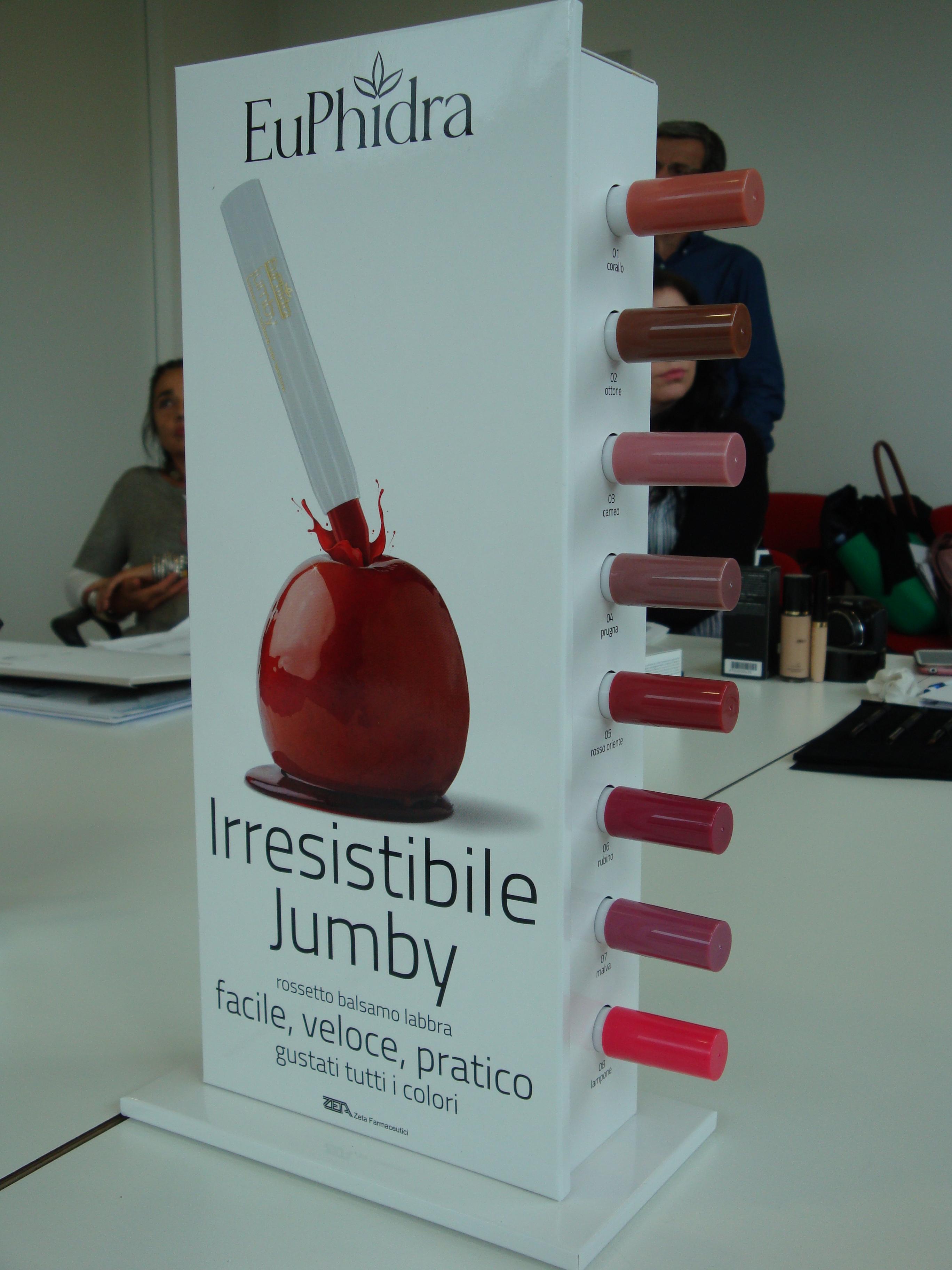 EuPhidra Jumby - matitoni idratanti labbra