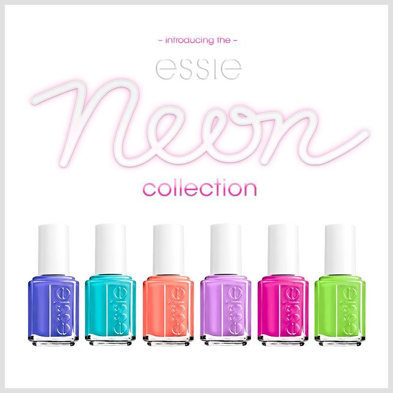 Essie NEON colors collections summer 2014