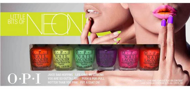 OPI Neon Polish 2014 mini kit