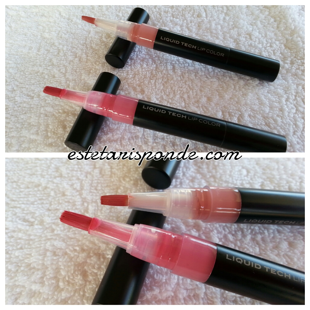 NABLA liquid tech lip color review & swatches