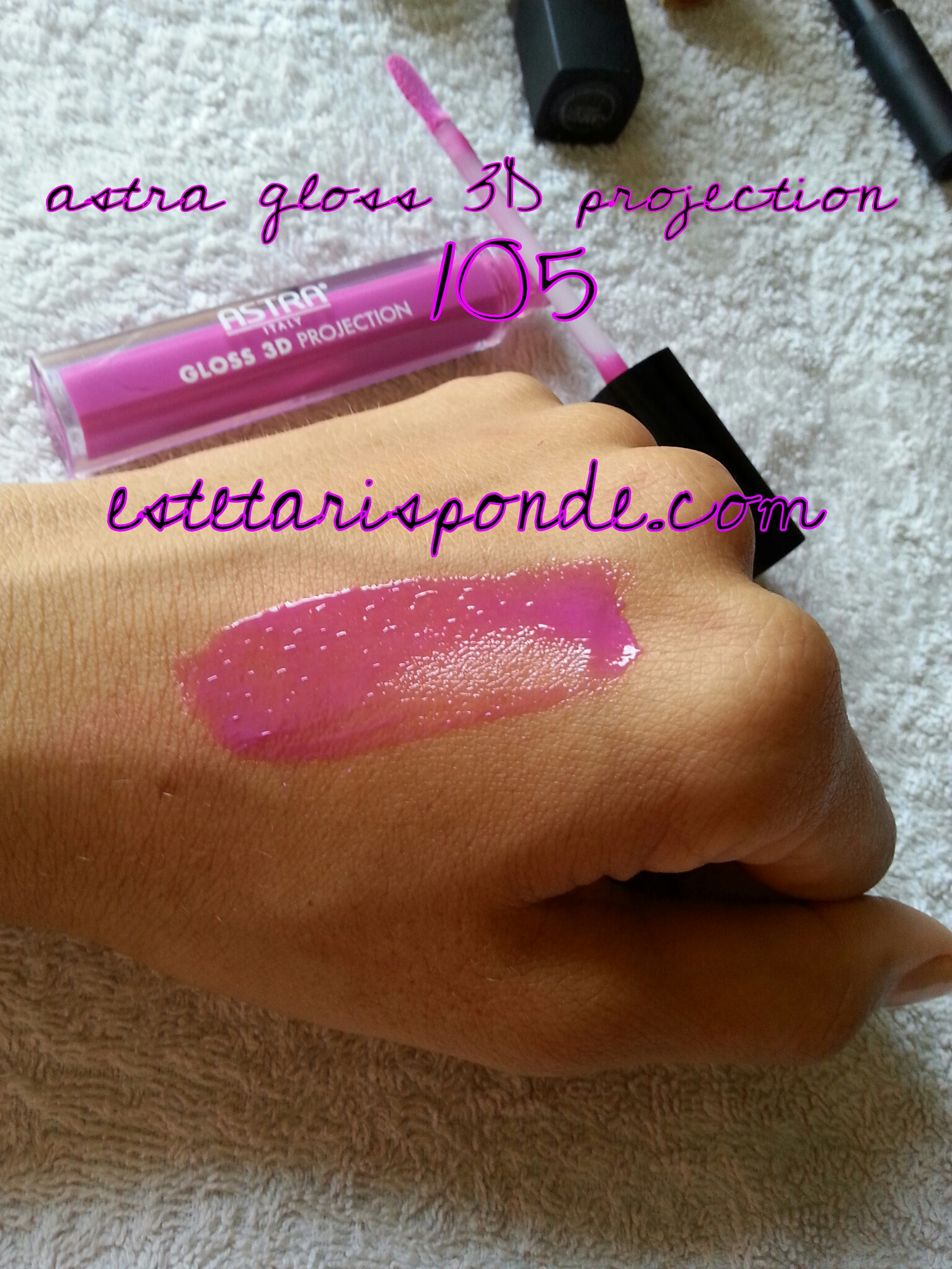 Astra gloss 3D projection #105 - swatch