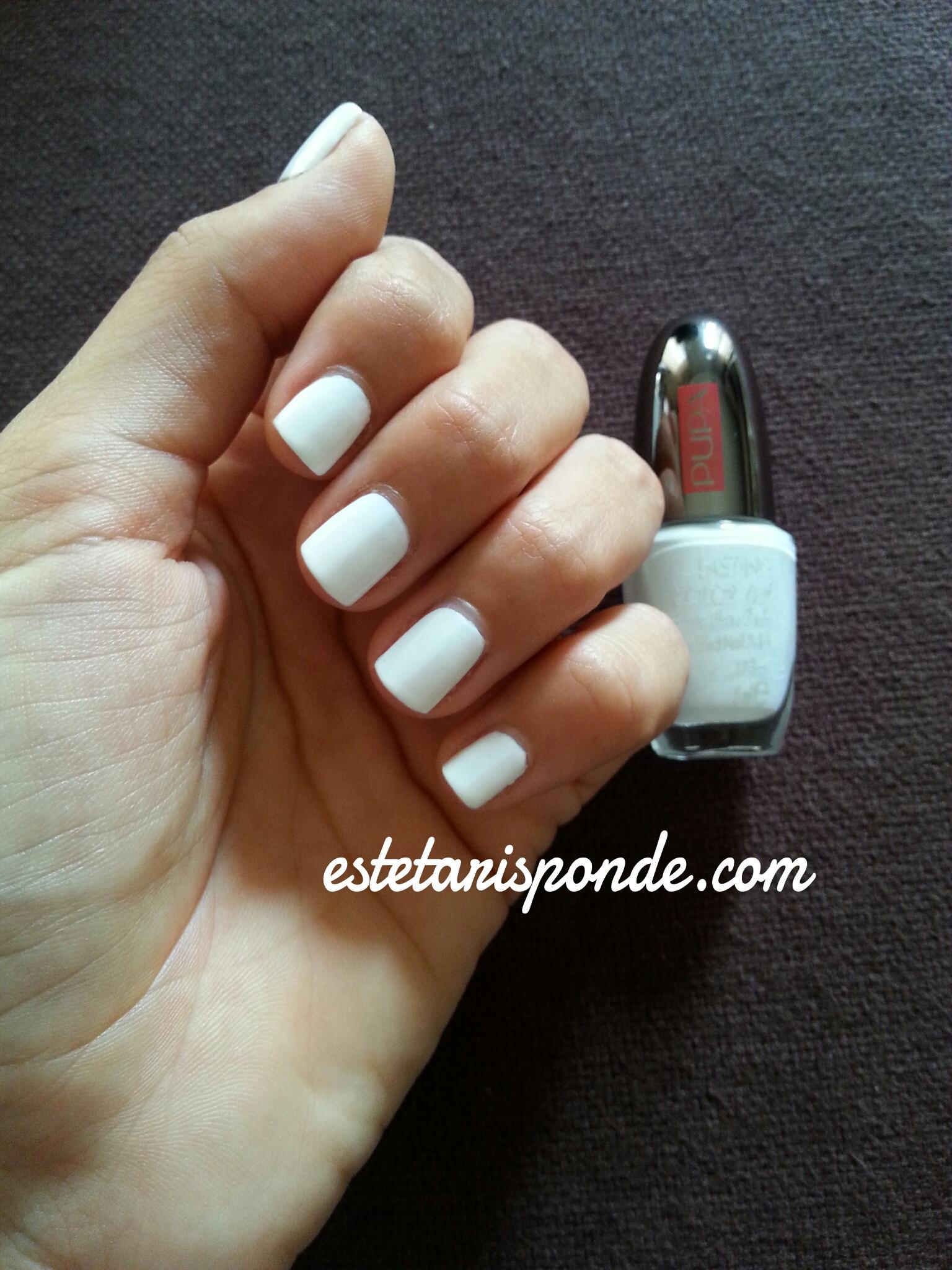 Estremamente PUPA Lasting Color gel #072: total white! - Esteta risponde IK06