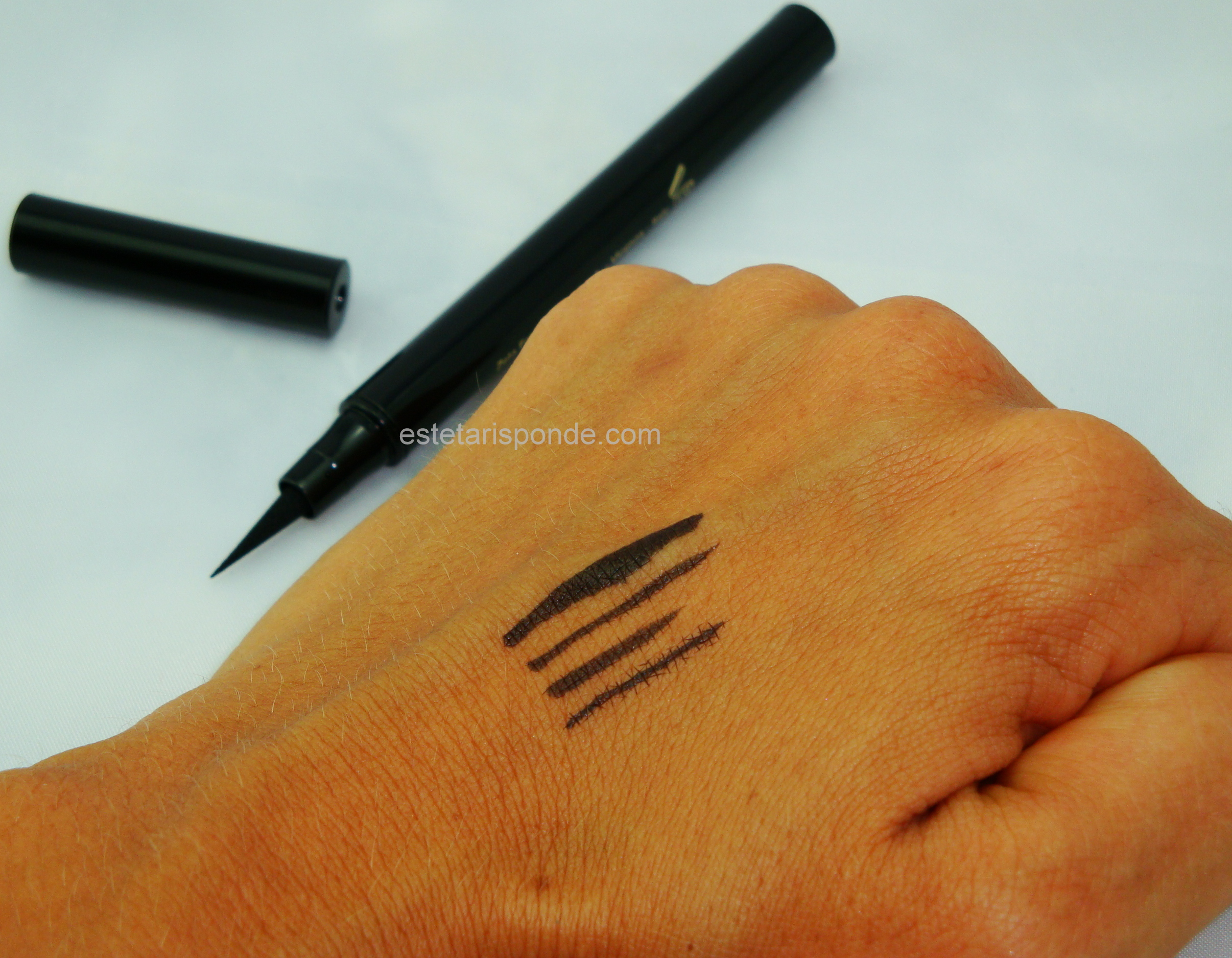 Eyeliner EuPhidra waterproof - swatches