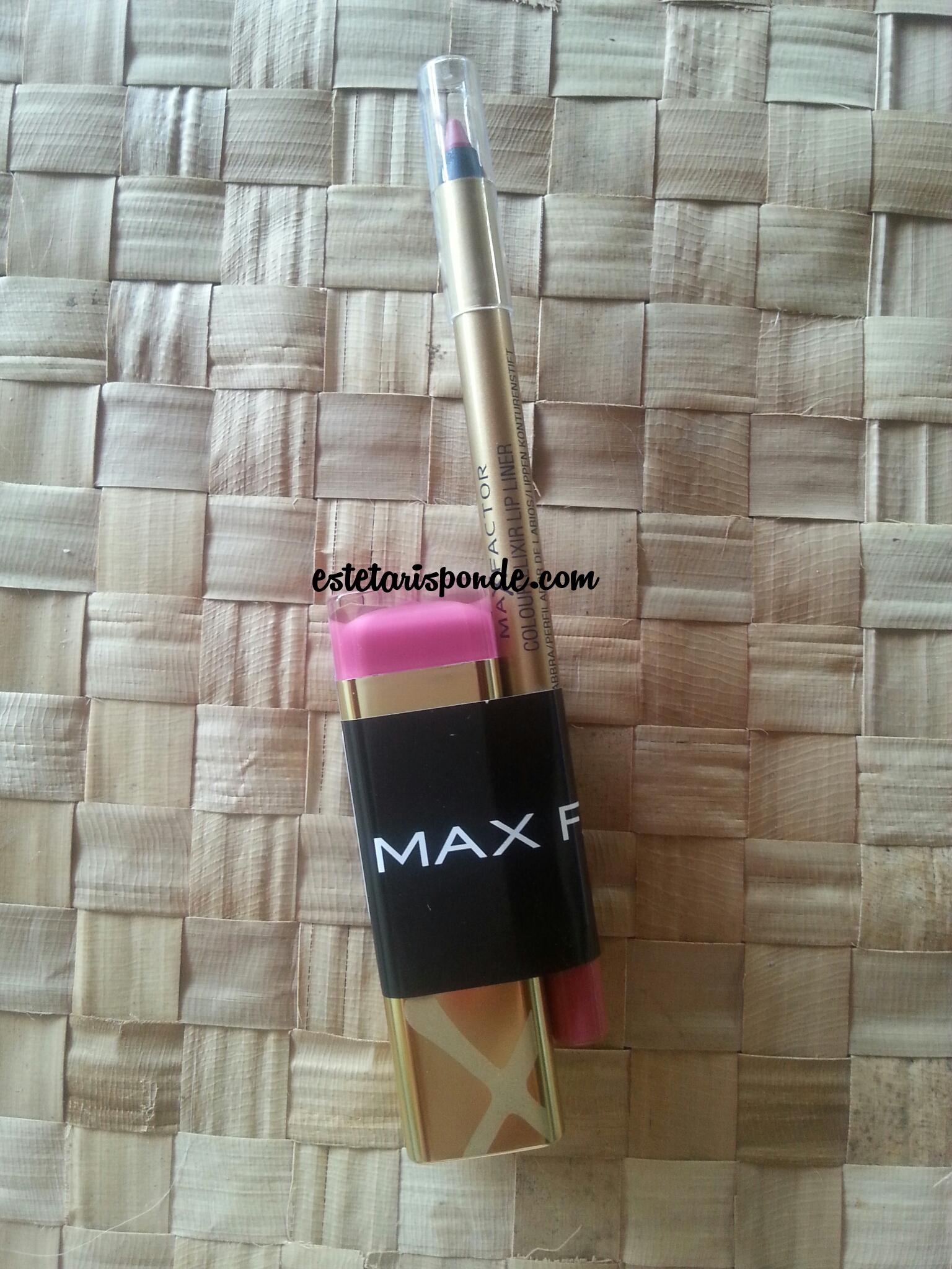 Max Factor Colour Elixir Lip pencil & Lipstic