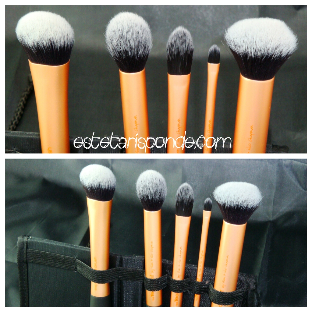 Real Techniques brushes review - core collection