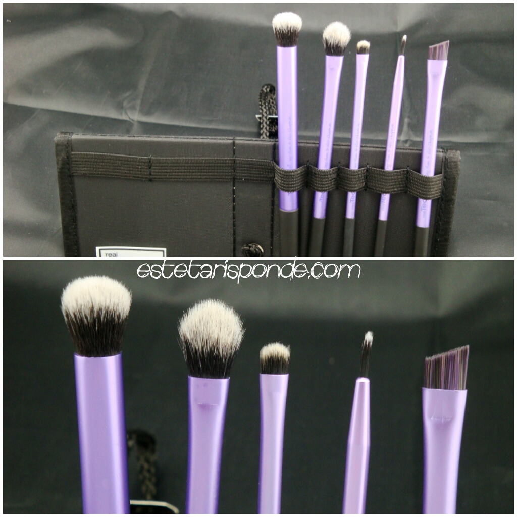 Real Techniques brushes review - set occhi