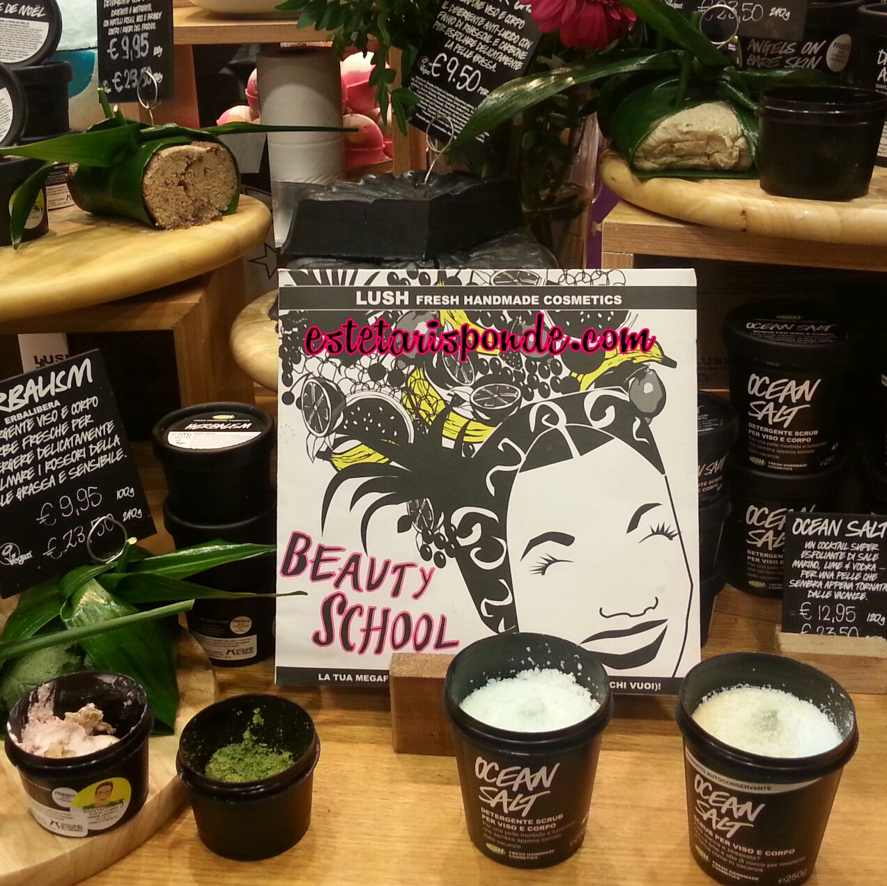 LUSH Party - evento beauty blogger - Pisa
