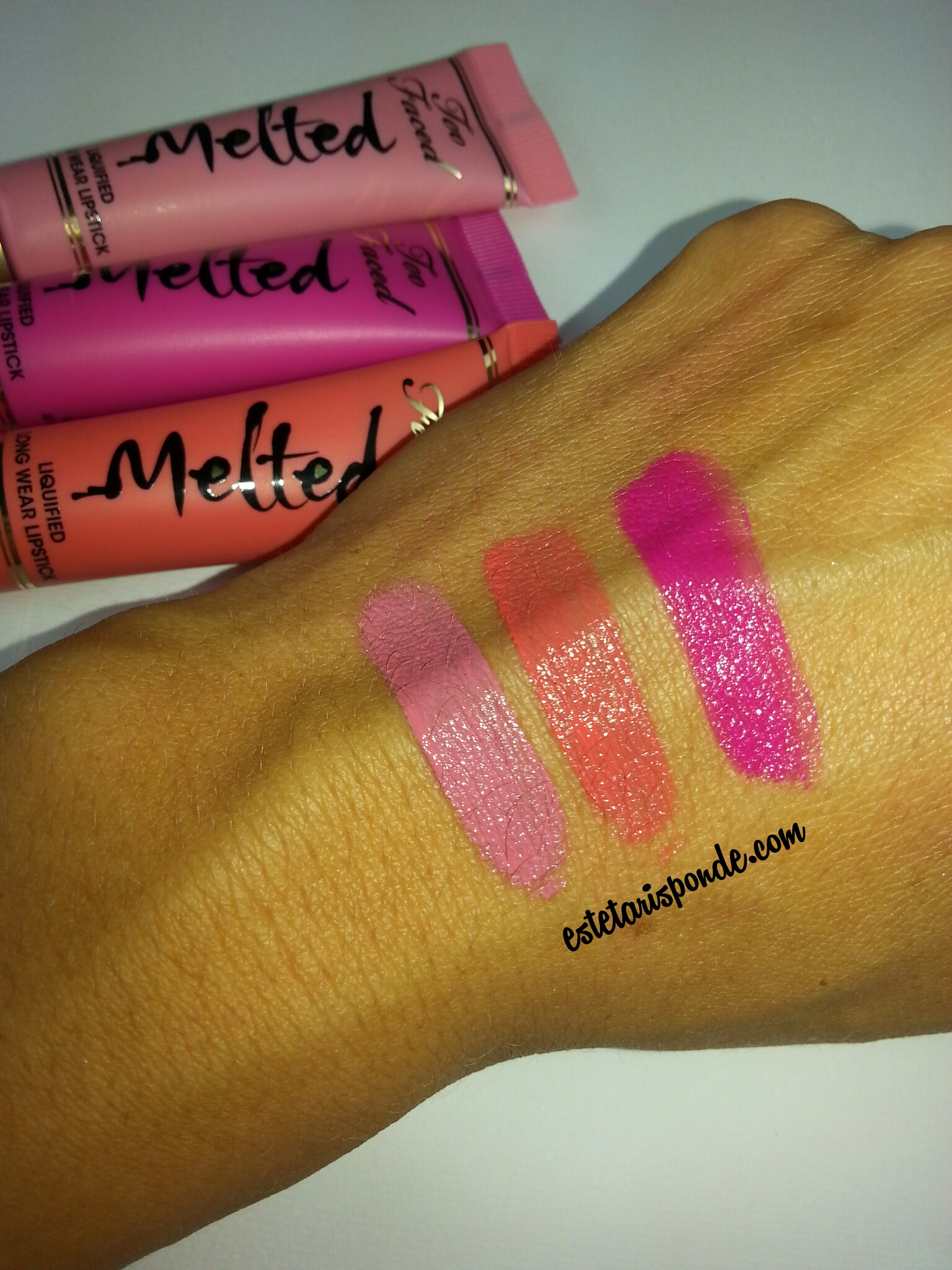Too Faced Melted - swatches