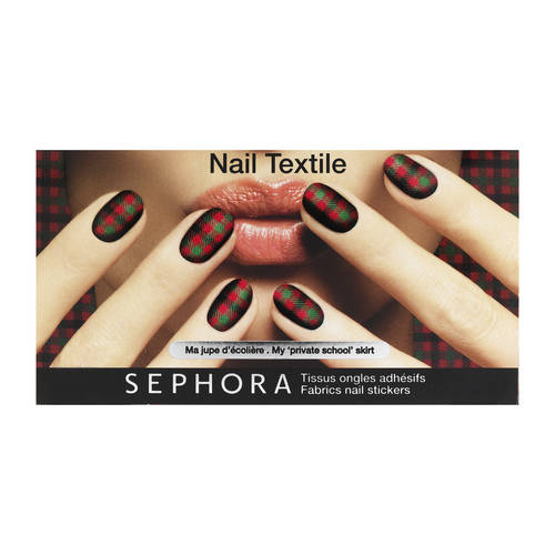 SEPHORA patch unghie tartan