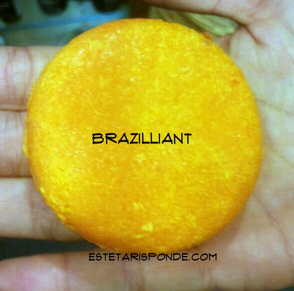 LUSH Brazilliant - shampoo solido