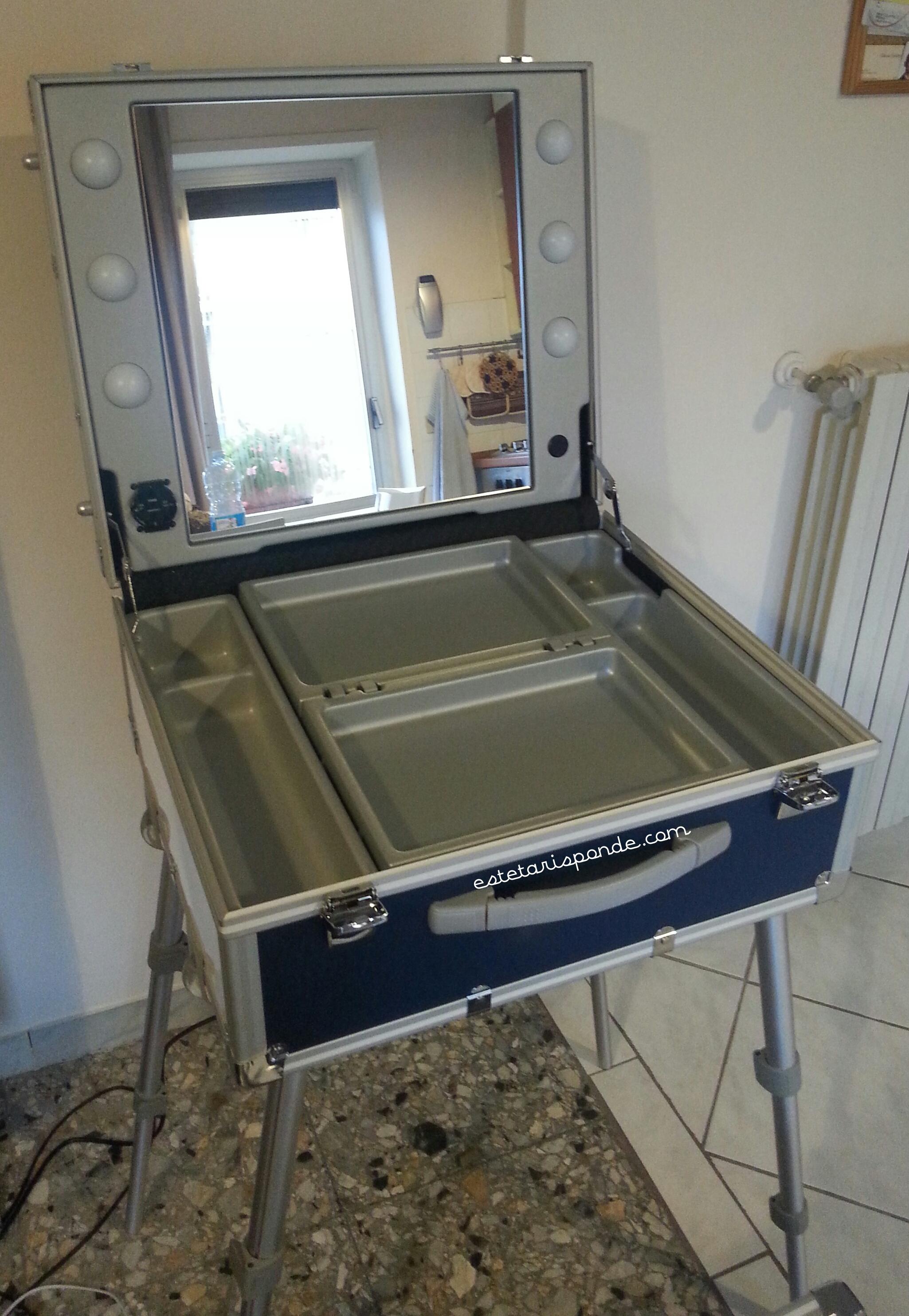 Cantoni make up station - valigia trucco Unica