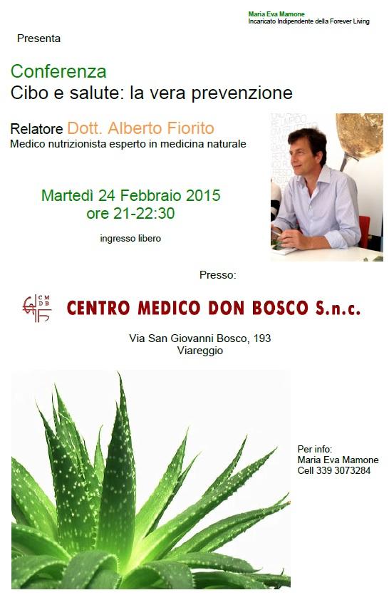 Conferenza salute e benessere Viareggio