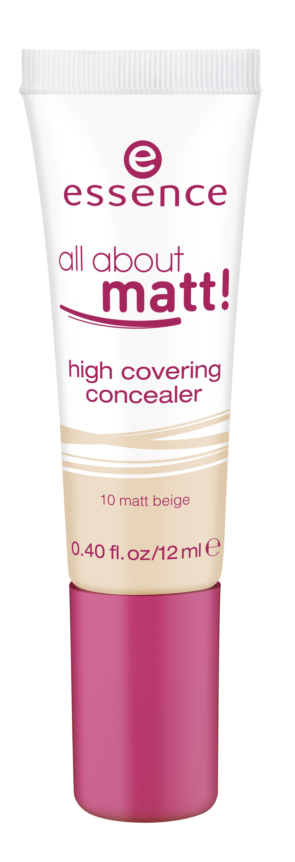 ess. all about matt high covering concealer #10