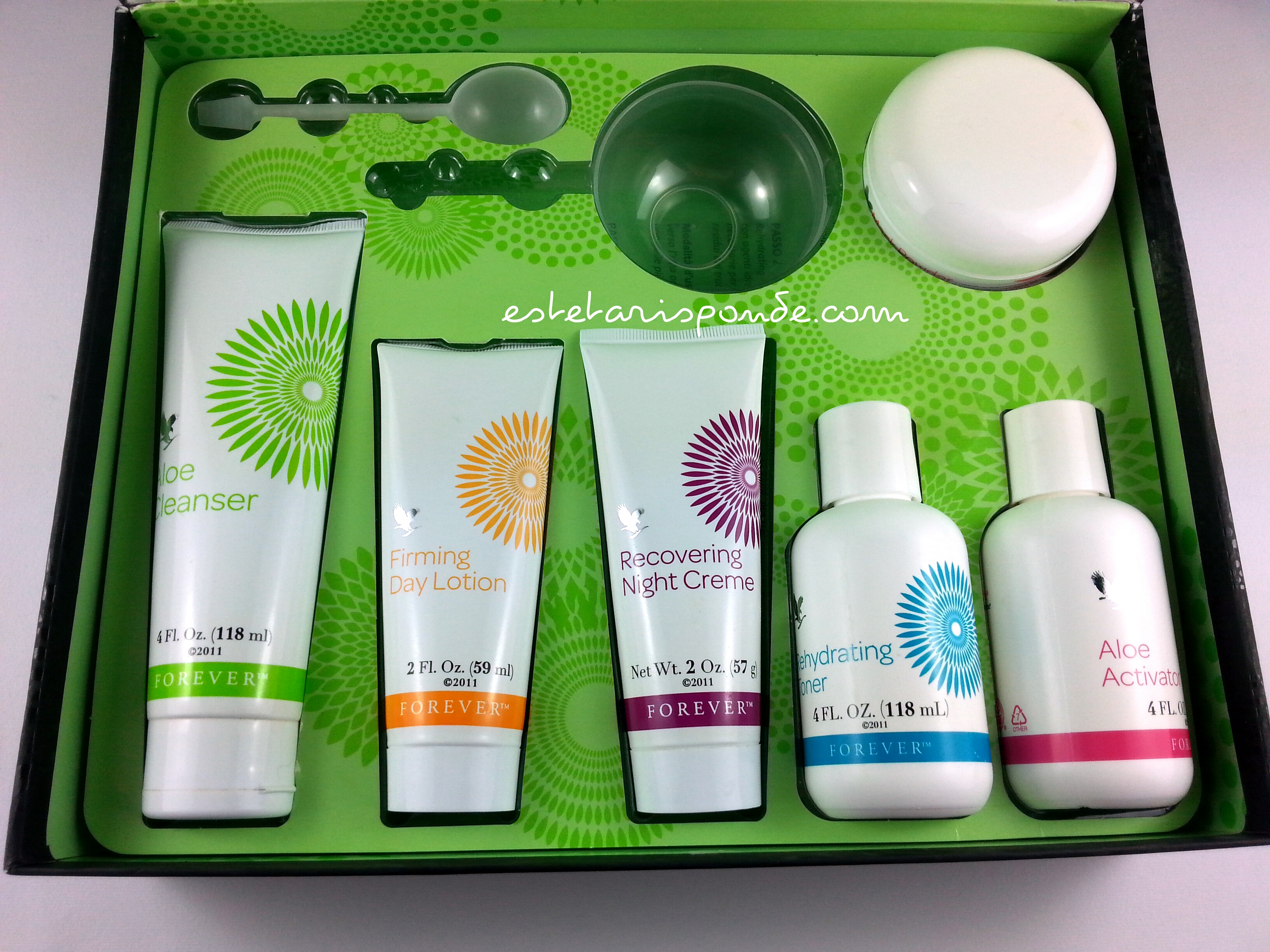 Forever Living products - kit viso a base di aloe