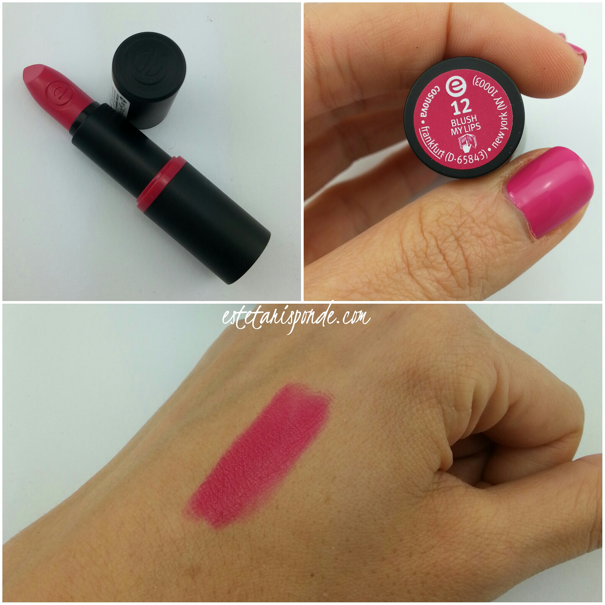 Essence blush my lips rossetto long lasting