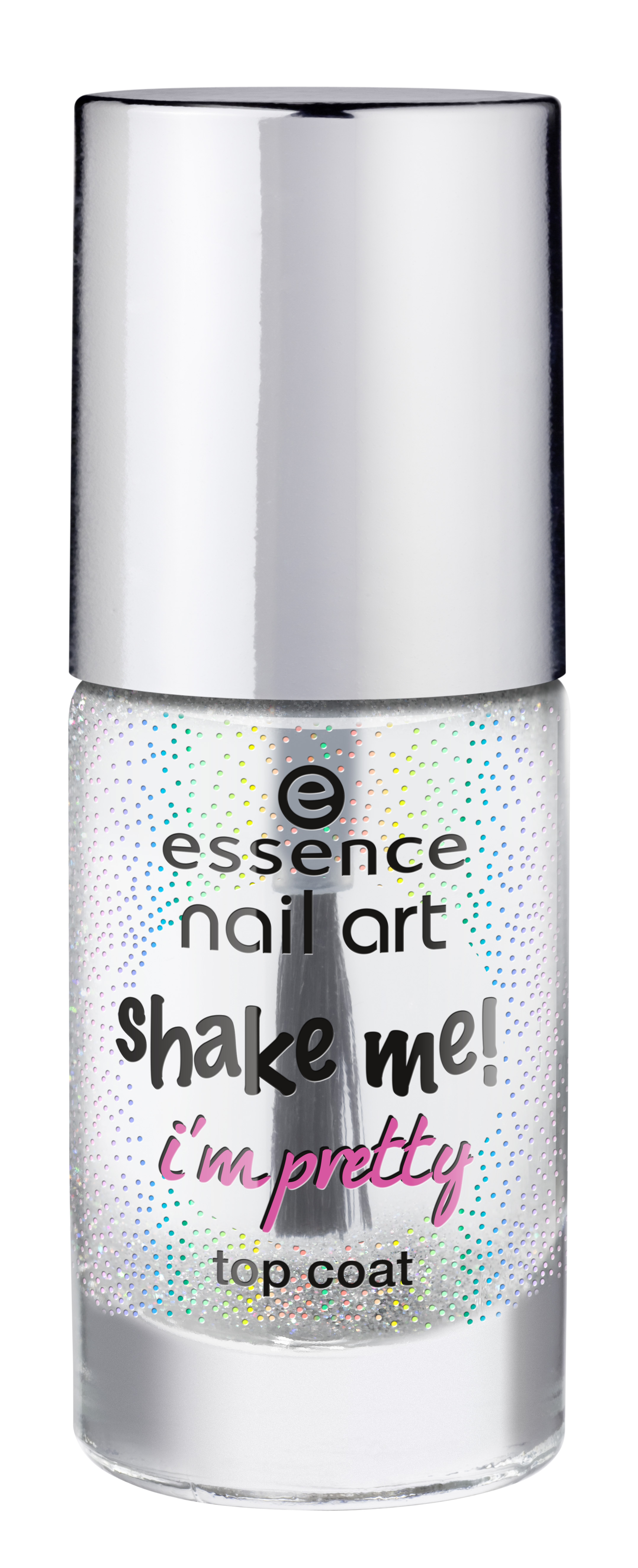 essence nail art shake me! i?m pretty top coat 25