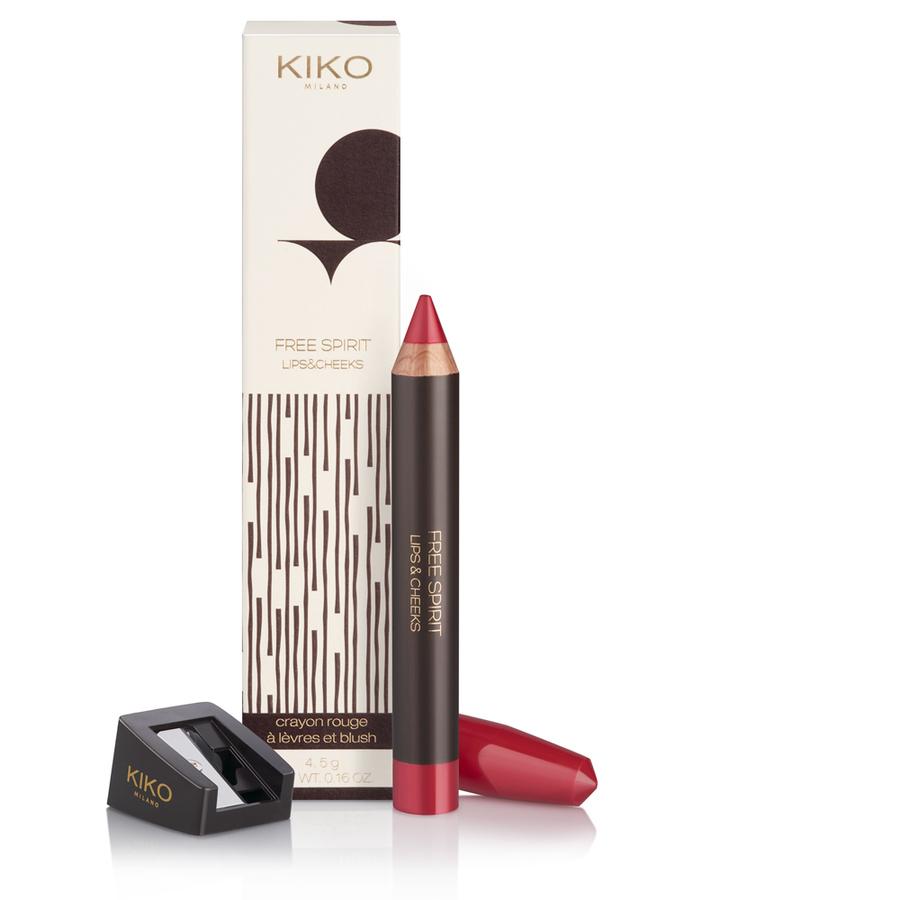 KIKO Free Spirit lips&cheecks - Matita labbra e guance.