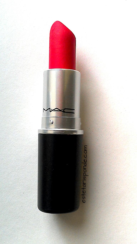 abbastanza Mac Relentlessly Red - Retro Matte Lipstick [Review] - Esteta risponde NN89